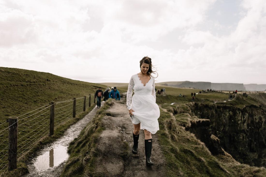Cliffs of Moher elopement